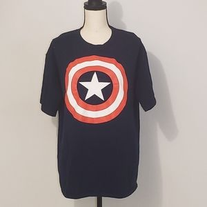 MARVEL CAPTAIN AMERICA GRAPHIC TEE